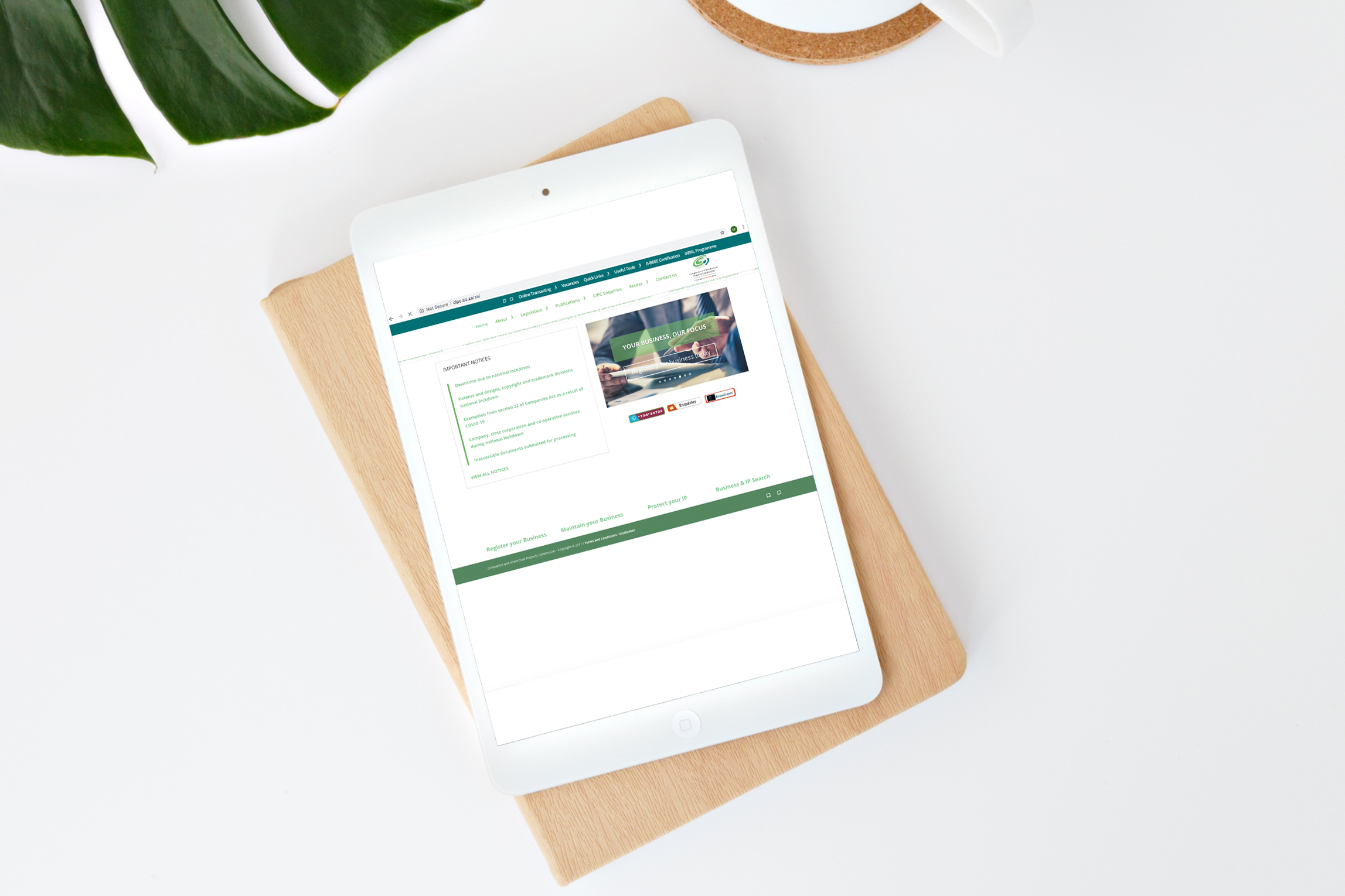 CIPC-Homepage-on-tablet