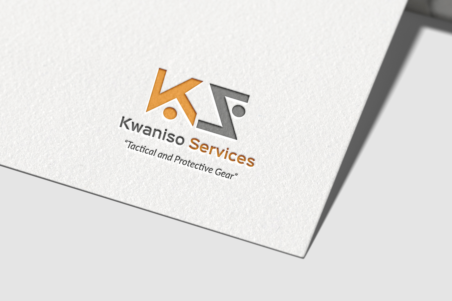 Kwaniso-Services-logo on paper