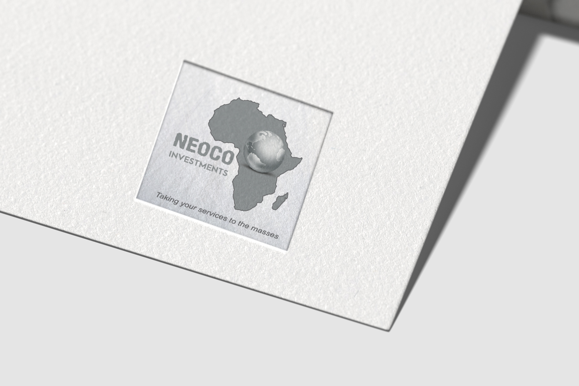 Neoco-Investments-logo-on-paper