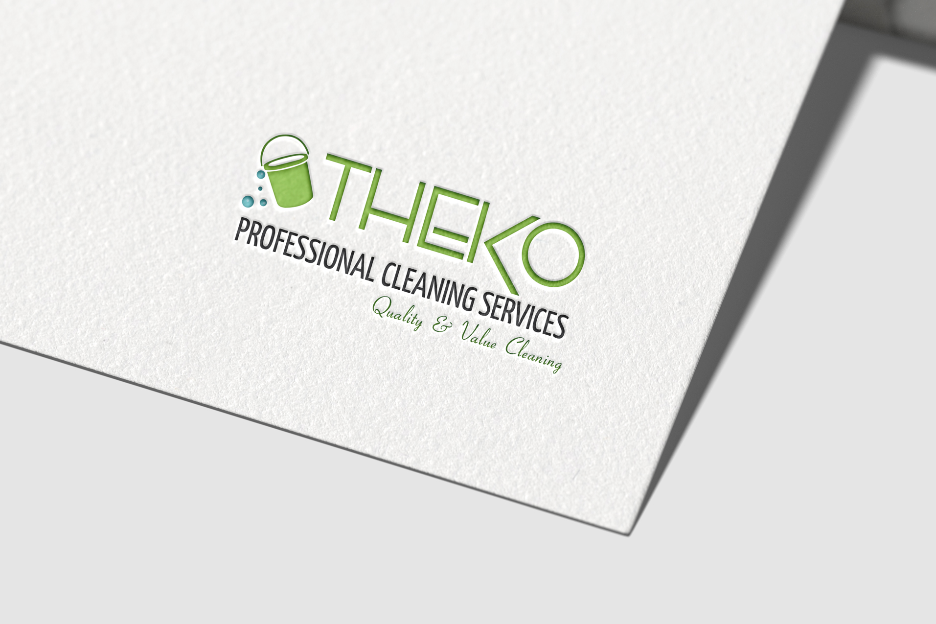Theko-Professional-Cleaning-logo-on-paper