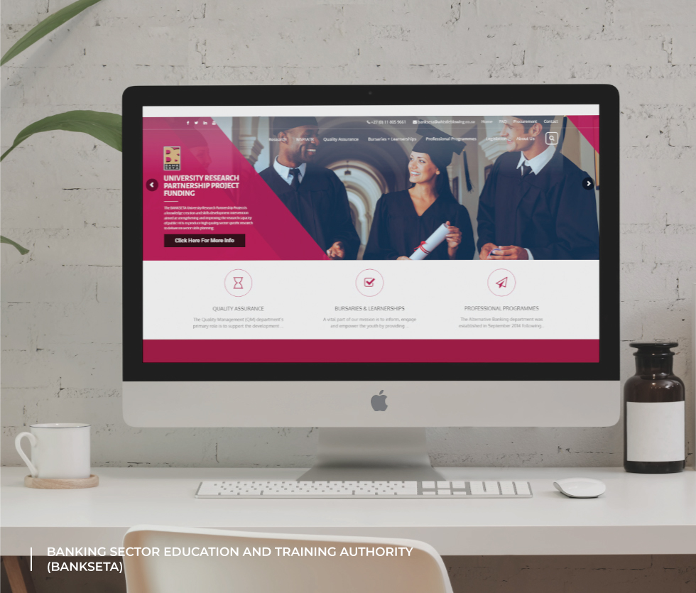 Banking Sector Education and Training Authority (BANKSETA) Website