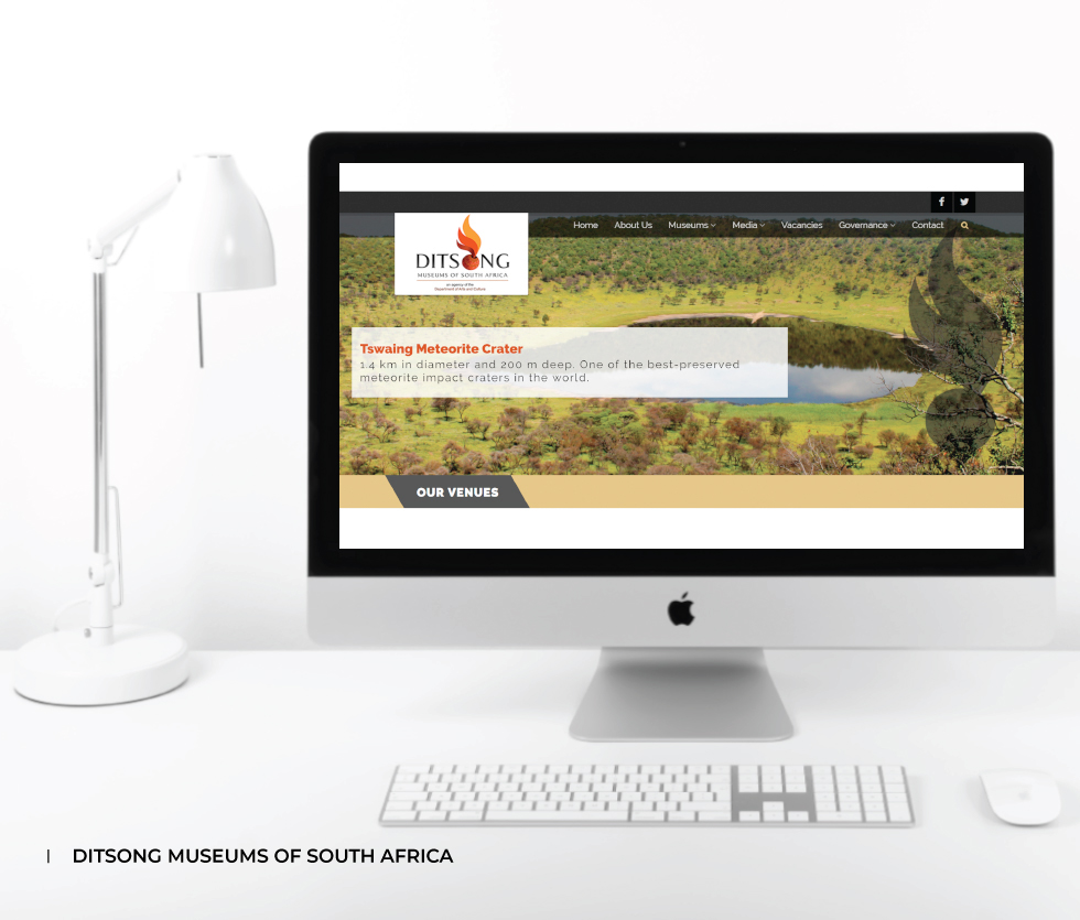 Ditsong Museums of South Africa (DMSA) Website