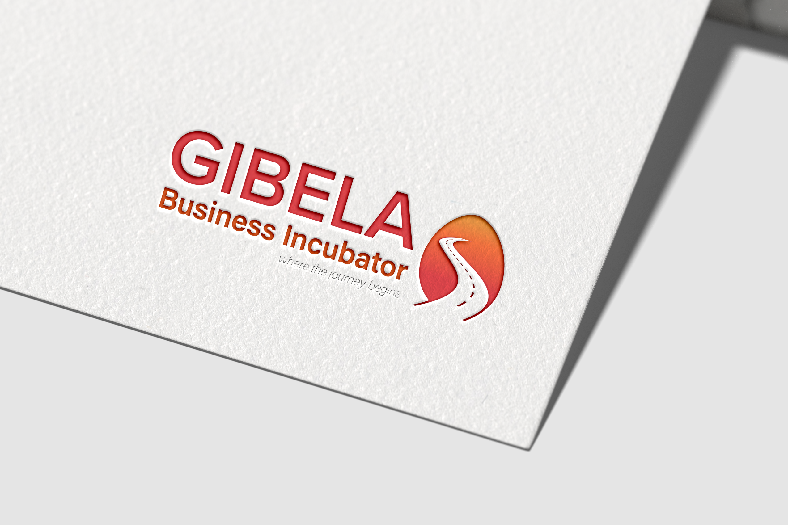 Gibela Business Incubator Logo on paper