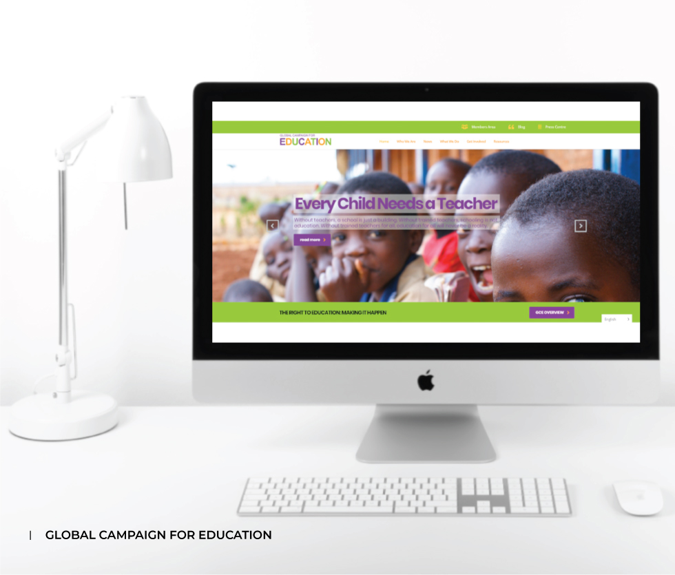 Global Campaign for Education (GCE) Website