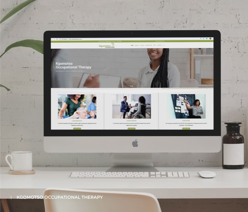 Kgomotso Occupational Therapy Website