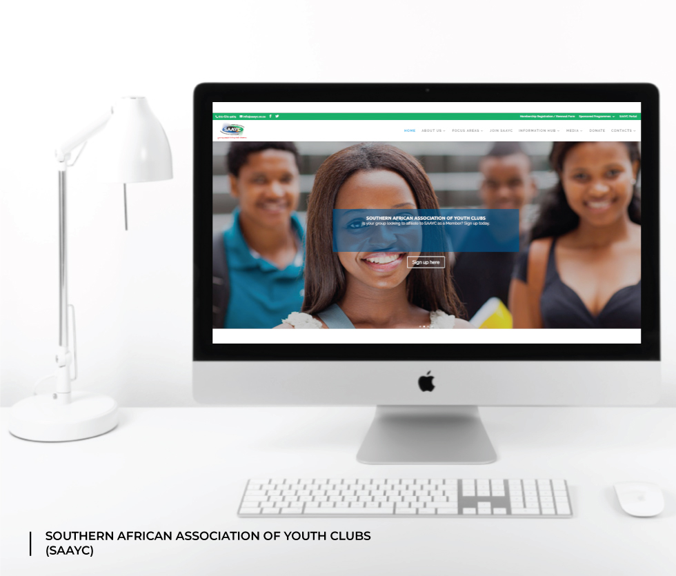 Southern African Association of Youth Clubs (SAAYC) Website